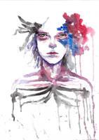 Abstract Watercolour 6 (scanned) by tsukiko-kiyomidzu