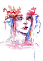 Abstract Watercolour 8 (scanned) by tsukiko-kiyomidzu