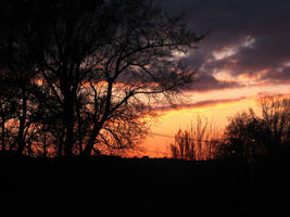 seting sun by vladmacaru