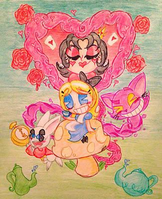 Alice in Wonderland by TuxedoLynx