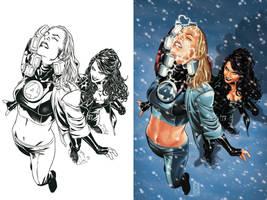 Fantastic Four 48 cover by diablo2003
