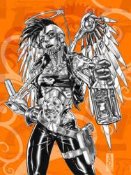 Ladytron sketch by diablo2003