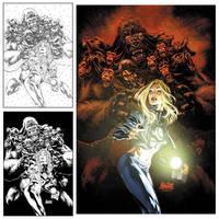 Fantastic Four 49 cover by diablo2003