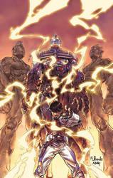 Ultraman-Tiga No 2 cover by diablo2003