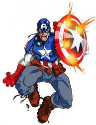 Ultimate Captain America by diablo2003