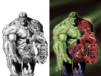 Hulk cover by diablo2003