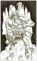 Hellboy by diablo2003