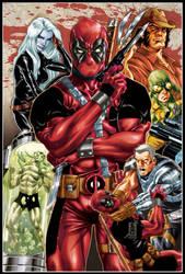 Deadpool origins cover by diablo2003