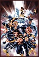 Ultimate X-Men cover by diablo2003
