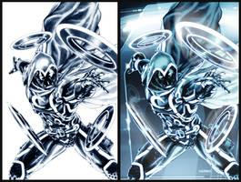 Moon Knight: TRON-ified by diablo2003