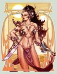 Dejah Thoris sketch by diablo2003