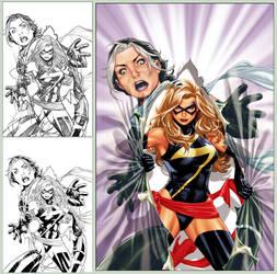 X-Men Legacy 269 cover by diablo2003
