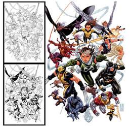 X-Men Legacy 275 cover by diablo2003