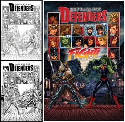 Fearless Defenders #5 by diablo2003