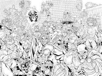 Age of Apocalypse double cover by diablo2003