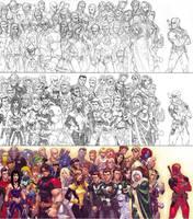 X-Men: Class of 2006 by diablo2003