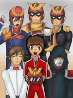 We are Captain Falcon by CaptainZelda07
