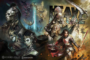 Heavy Metal Magazine #278 Exclusive (Sideshow) by bigmac996