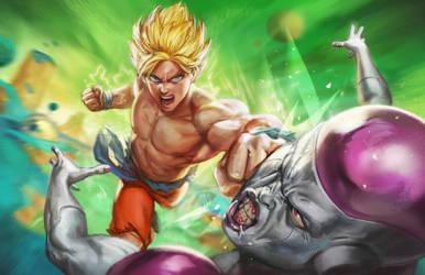Battle on Planet Namek by bigmac996