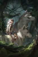 Forest Princess by bigmac996