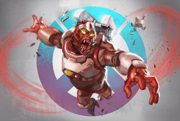 Winston Primal Rage by bigmac996
