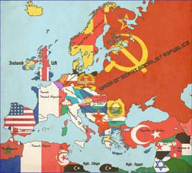 Europe, 1950 [alt history][partner to Yalta, 1946] by Animadefensor