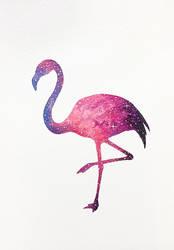 Flamingo Acrylic by JacksonGiv