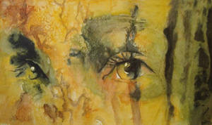 Dark Eyes by paintedmonke