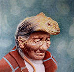 Lizardman by paintedmonke