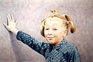 Little girl by paintedmonke