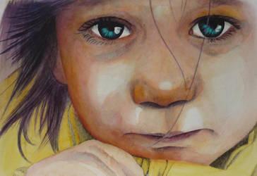 Eyes of Wisdom by paintedmonke
