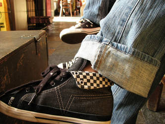 kickin' it by LumberJackAssassin