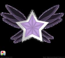 Grand Parallel Sailor Cosmos Brooch by Iggwilv