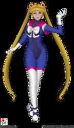 Astro Sailor Moon by Iggwilv