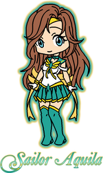 Sailor Aquilia by Iggwilv