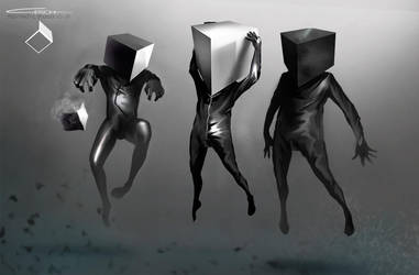 Character study Mind's Cube by G-ESCH