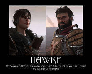 goddamed hawke by Xyga