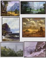Master studies III by Fleret