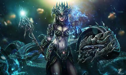 Black Widow by mzrkart