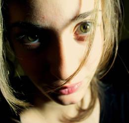 green eyes by glisiarmay