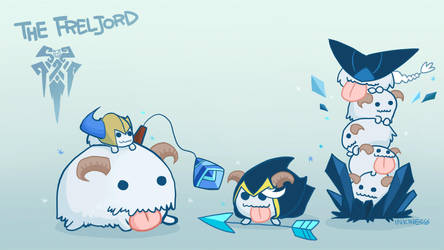 3 Poros of Freljord by inkinesss