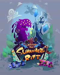 Summoner's Rift by inkinesss