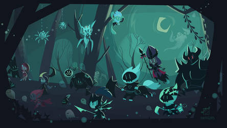 Shadow Isles by inkinesss