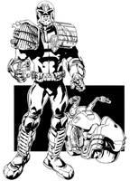 Judge Dredd by jakebilbao