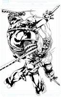 Wolverine VS Omega Red by jakebilbao