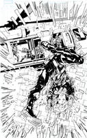 Hawkeye and Black Widow by jakebilbao