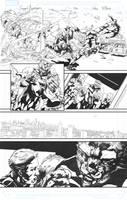 Secret Avengers sample page 22 by jakebilbao