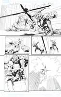 Secret Avengers sample page 21 by jakebilbao