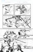 Secret Avengers sample page 20 by jakebilbao