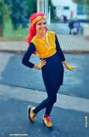 Fem! Jack Spicer cosplay V. by pearlANDblood